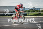 Tim Don during the bike portion of the 2015 Ironman…