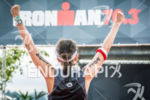 Age grouper after the finish line at the 2015 Ironman…