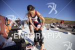 Jennifer Lentzke prepares for the swim start at Wildflower Long…