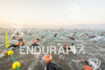 Swim start of the 2015 Ironman Lanzarote in Puerto del…