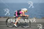 Diana Riesler on the bike of the 2015 Ironman Lanzarote…