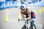 Sarah Reinertsen (USA) during the cycling stage on the bike…