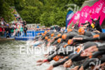 The start of  the 2015 London Itu World Triathlon in…
