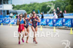 Katie Zaferes, Ainhoa Murua and Sarah True on the run…