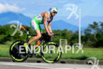 Marino Vanhoenacker during the bike portion of the 2015 Ironman…