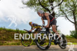 Sebastian Kienle and Andreas Boecherer (l-r) on the bike at…