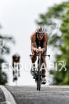 Andreas Boecherer on the bike at the Ironman 70.3  Kraichgau…