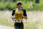 Sebastian Kienle during the run portion of the Ironman 70.3…
