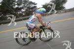 Mirinda Carfrae tackling the hills in The Presidio at Escape…
