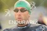 Marino Vanhoenacker before the swim start of the 2015 Ironman…