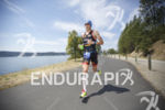 Andy Potts during the first lap of the run at…