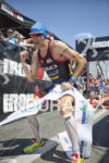 Andy Potts is victorious at Ironman Coeur d'Alene on June…
