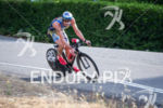 Tim O'donnell takes corners fast on the bike at the…