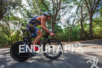 Tim O'Donnell climbs Chaulk Hill at the 2015 Ironman 70.3…