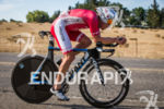 Sam Appleton on bike heading back to T2 with a…