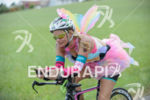 Age group athlete during the bike leg of Challenge Roth…