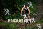 Athlete during the bike portion of the 2015 XTERRA Brazil…