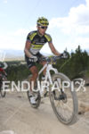 Kristian Hynek holding first place at the 2015 Leadville 100…