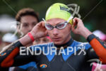 Eric Limkemann during the swim portion of the at the…