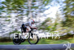 Doug McLean during the bike portion of the at the…