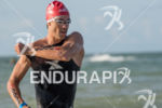 Igor Amorelli during the swim portion of the 2015 Challenge…