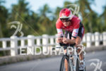 Marcus Fernandes during the bike portion of the 2015 Challenge…