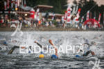Start of the inaugural 2015 Ironman 70.3 Vichy in Vichy,…