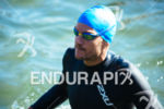 Jan Frodeno before the swim leg of the 2015 Ironman…