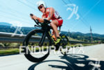 Jodie Swallow competes during the bike leg of the 2015…