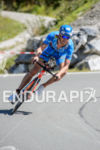 Michael Raelert competes during the bike leg of the 2015…