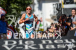 Magali Tisseyre celebrates at the finish line of the 2015…