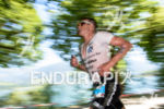 Tyler Butterfield competes during the run leg of the 2015…