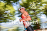 Bart Aernouts competes during the run leg of the 2015…