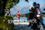 Daniela Ryf competes during the run leg of the 2015…