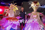 Matty Reed poses with performers at the welcoming recption at…