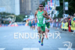 Crisanto Grajales competes during the run leg of the 2015…
