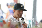 Andy Potts at the press conference of the 2015 Ironman…