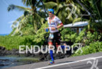 Andy Potts during the run portion of the  2015 Ironman…