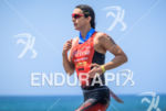 Rachel Joyce during the run portion of the  2015 Ironman…