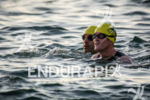 Indy drivers Scott Dixon and Tony Kanaan during the swim…