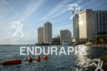 The beautiful swim portion of the  2015 Ironman 70.3 Miami…
