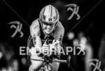 Jennifer Spieldenner during the  bike portion of the  2015 Ironman…