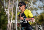 Oscar Galindez during the  portion of the  2015 Ironman 70.3…