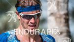Michael Raelert during the run portion of the  2015 Ironman…