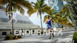 Antony Costes during the run portion of the  2015 Ironman…