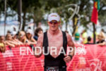 Indy driver Scott Dixon finishes  the  2015 Ironman 70.3 Miami…