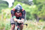 Athlete during the scenic bike portion of the  2015 Ironman…
