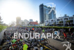 Transition area at the 2015 Ironman 70.3 Punta del Este…