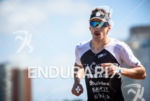 Jeremy Morel (FRA) during the run portion at the 2015…