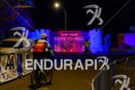 Athlete arrives at the location of the 2015 winter duathlon…